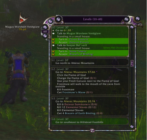 Zygor WoW Leveling Guide